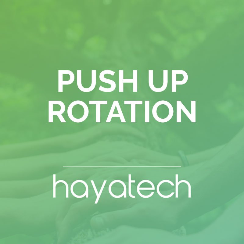 Push up Rotation