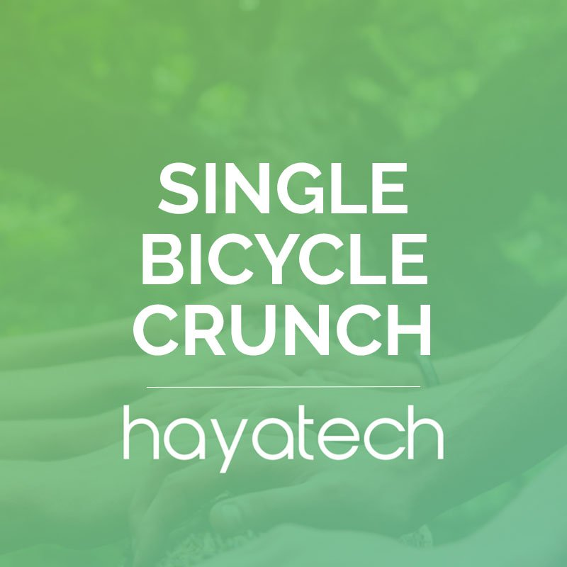 Single Bicycle Crunch